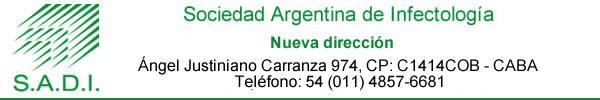 SADI - Sociedad Argentina de Infectología