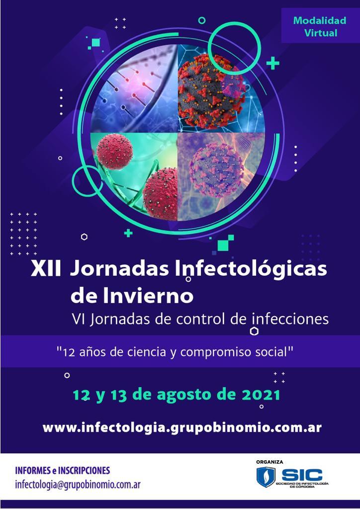 XII Jornadas Infectologicas de Invierno y VI Jornadas de Control de Infecciones