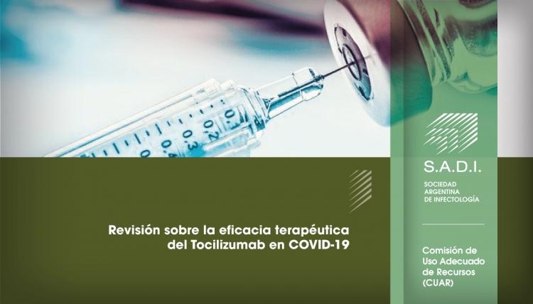Revisión sobre la eficacia terapéutica del Tocilizumab en COVID-19.
