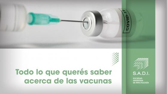 Todo lo que querés saber acerca de las vacunas