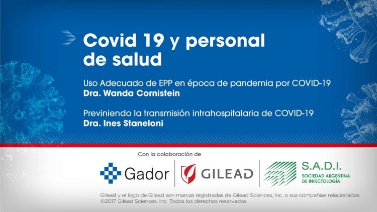 Webinar: Covid19 y personal de salud