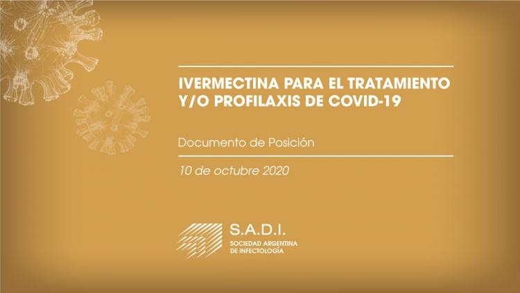 Ivermectina para el tratamiento y/o profilaxis de COVID-19