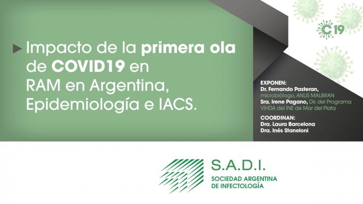 Impacto de la primera ola de Covid en RAM en Argentina, Epidemiología e IACS.