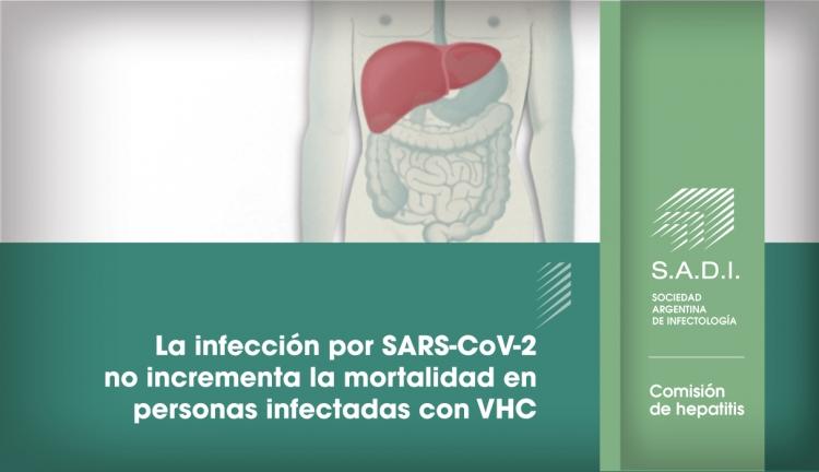 La infección por SARS-CoV-2 no incrementa la mortalidad en personas infectadas con VHC
