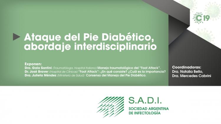 Ataque del Pie Diabético: abordaje interdisciplinario