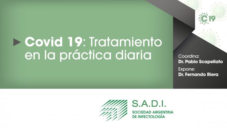 COVID-19: Tratamiento en la práctica diaria.