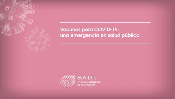 Vacunas para Covid-19: Una emergencia en salud pública