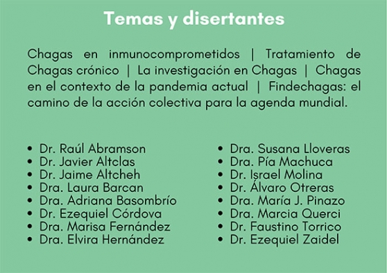 """Jornada Pre-Congreso SADI 2020 - """"Chagas hoy: una mirada integral"""""""