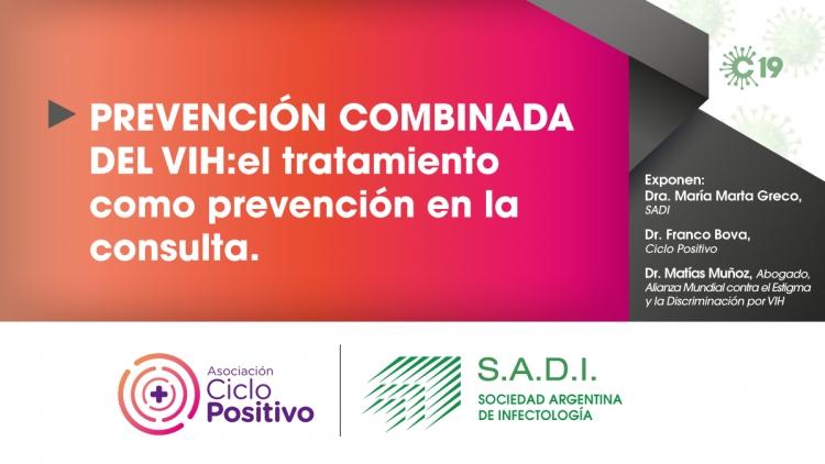 Prevención combinada del VIH: el tratamiento como prevención en la consulta.