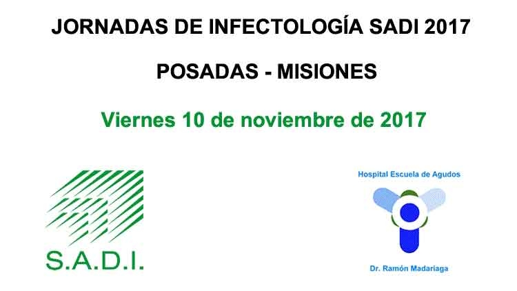 Jornadas de Infectología SADI 2017 Posadas - Misiones