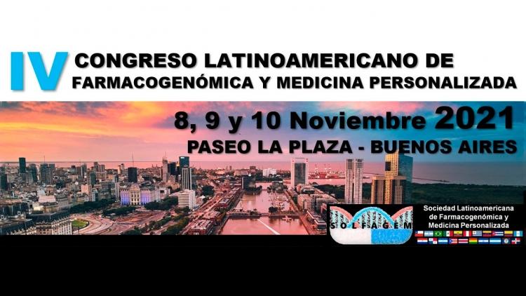 IV Congreso Latinoamericano de Farmacogenómica y Medicina Personalizada