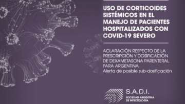 Uso de corticoides sistémicos en el manejo de pacientes hospitalizados con COVID-19 severo
