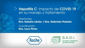 Webinar - Hepatitis C: Impacto de Covid-19 en su manejo y tratamiento