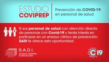 Estudio CoviPREP - Prevención de COVID-19 en personal de salud