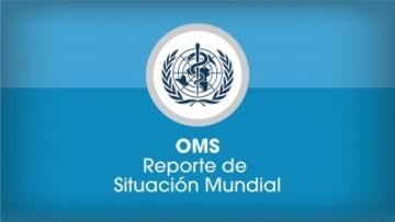 """Leé el reporte """"Estado de Situación de Coronavirus - O.M.S."""