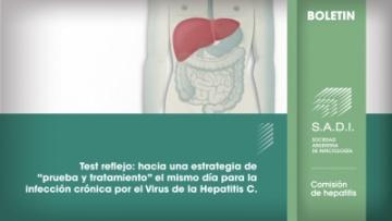 """Test reflejo: hacia una estrategia de """"prueba y tratamiento"""" el mismo día para la infección crónica por el Virus de la Hepatitis C"""