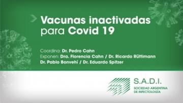 Webinar - Vacunas inactivadas para Covid-19