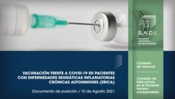Vacunación frente a COVID-19 en pacientes con Enfermedades Reumáticas Inflamatorias Crónicas Autoinmunes (ERICA)