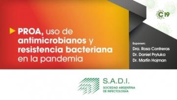 PROA, uso de antimicrobianos y resistencia bacteriana en la pandemia.