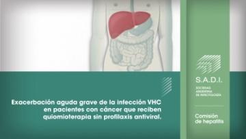 Exacerbación aguda grave de la infección VHC en pacientes con cáncer que  reciben quiomioterapia sin profilaxis antiviral