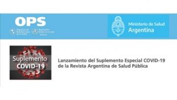 Lanzamiento del Suplemento Especial COVID-19 de la Revista Argentina de Salud Pública